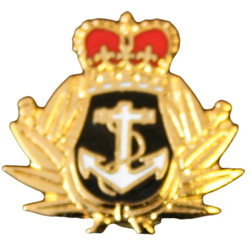 RN Crown & Anchor Lapel Badge