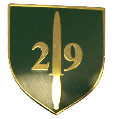 29 CDO RA Lapel Badge