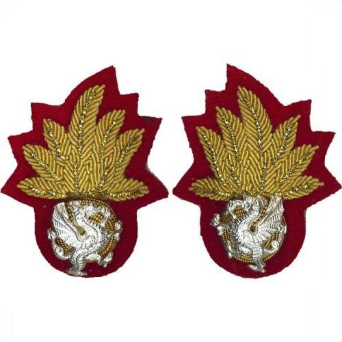 RWF WO Collar Badge