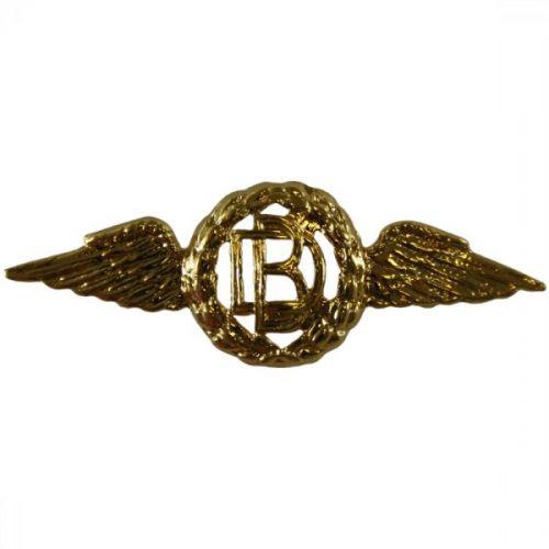 RAF Dental Gilt Collar Badges