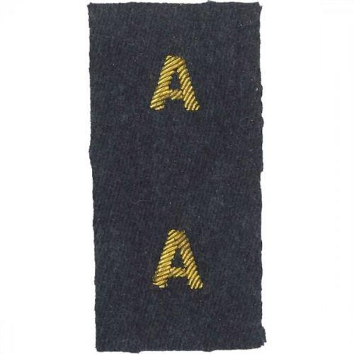 RAF A Collar Badges No.5