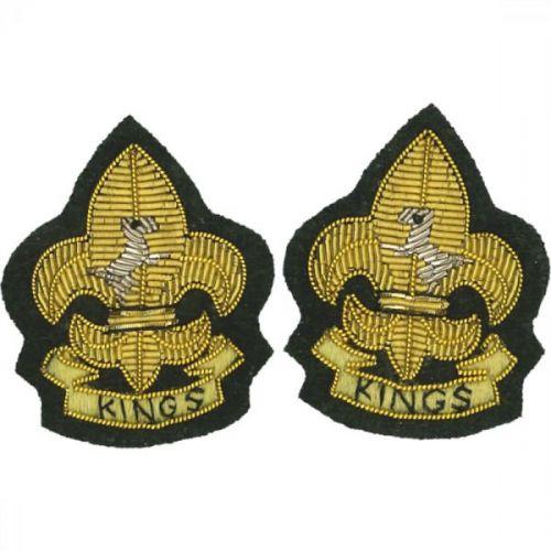 Kings Collar Badge