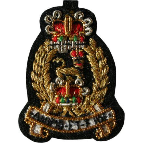 AGC Female Collar Badge