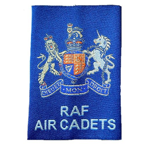 RAF Air Cadet WO Royal Arms Slides