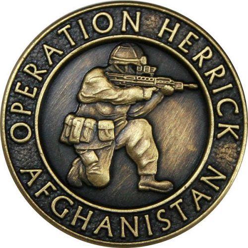 OP-HERRICK Afghanistan Bronze Relieved Blazer Button (24L)