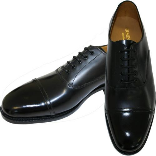 Parade Shoe With Polished Toe Cap
