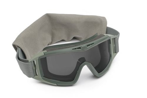 Desert Locust® Military Goggle System Deluxe (Foliage Green)