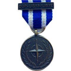 NATO OUP-LIBYA, Medal (Miniature)